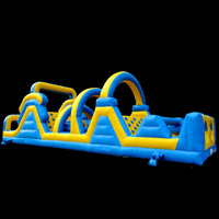inflatable ninja warrior course