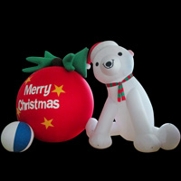 inflatable  Christmas Cartoon Bear