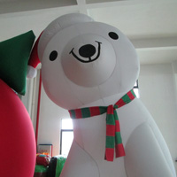 inflatable  Christmas Cartoon BearGC045