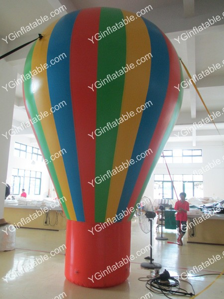 The color heat sealing inflatable ballGO061