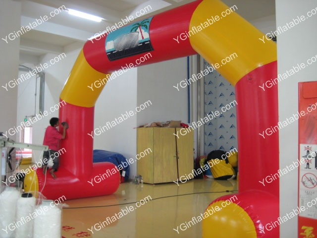 Custom Inflatable ArchwaysGA143