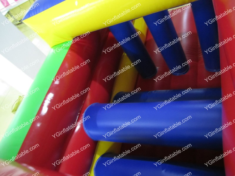 Small inflatable obstacle bouncerGB501