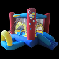 Bounce House With Slide Combo For Sale