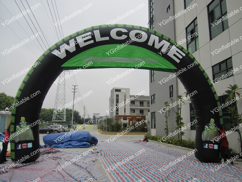Custom Advertising Inflatable ArchGA144