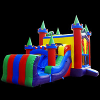inflatable bounce slideGB509
