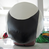 oval-shaped inflatable balloonGC126