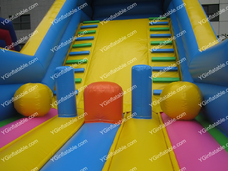 inflatable obstacle slidesGI151
