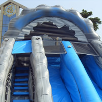 Inflatable Water Slide with PoolGI153