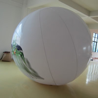white Inflatable Advertising  BalloonGO057