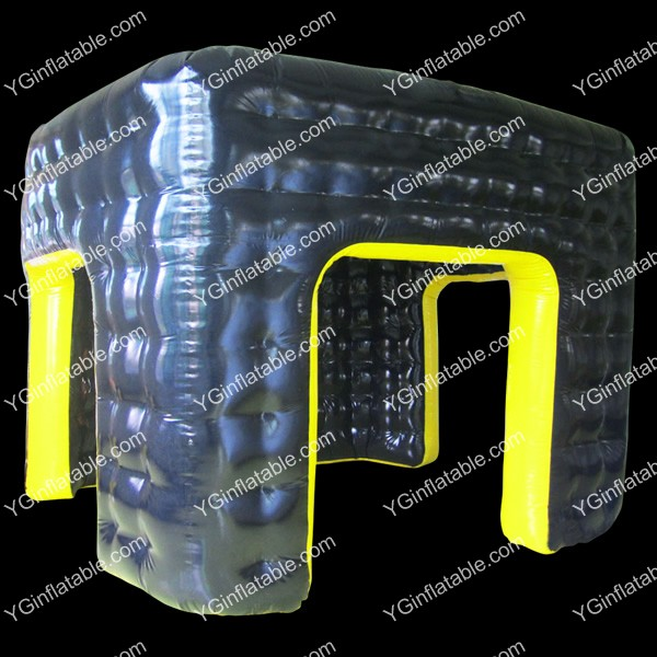 black Advertising inflatable tentGN079