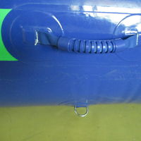 Dark blue inflatable poolGP073