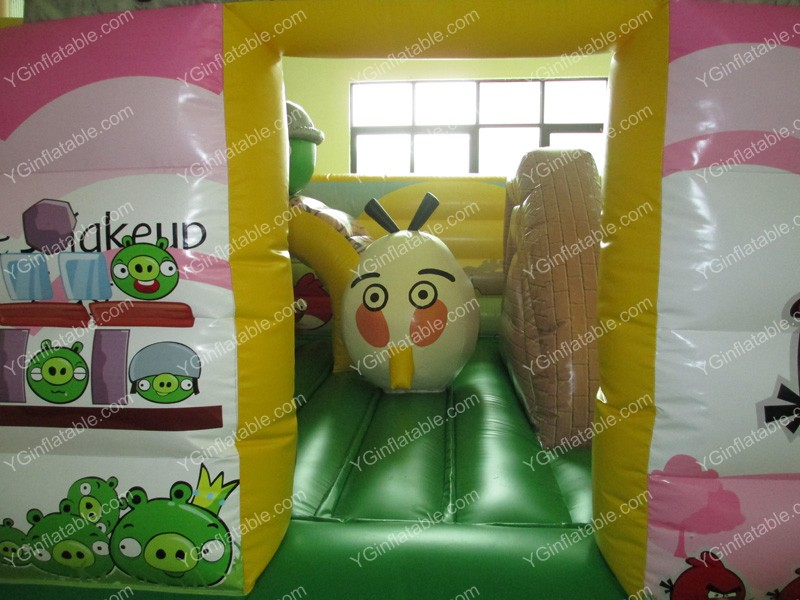 Angry birds inflatable parkGF097