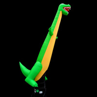 Inflatable dinosaur dancer