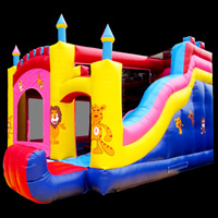 inflatable bounce slideGB524