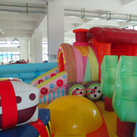 inflatable Train parkGF099