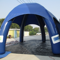 Deep blue inflatable tentGN110