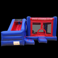 Inflatable  bouncer slide comboGB499b