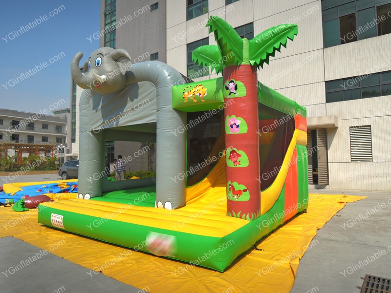 Inflatable Elephant BouncersGL114