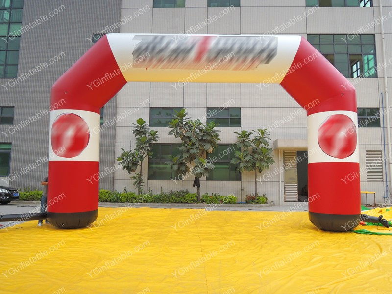 Inflatable Red ArchesGA166
