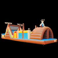 Pirate Jumping Obstacle Course