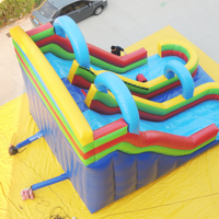 Double slideway inflatable slideGI022