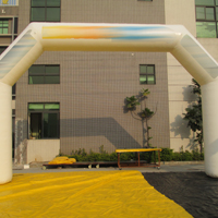White Inflatable ArchesGA154