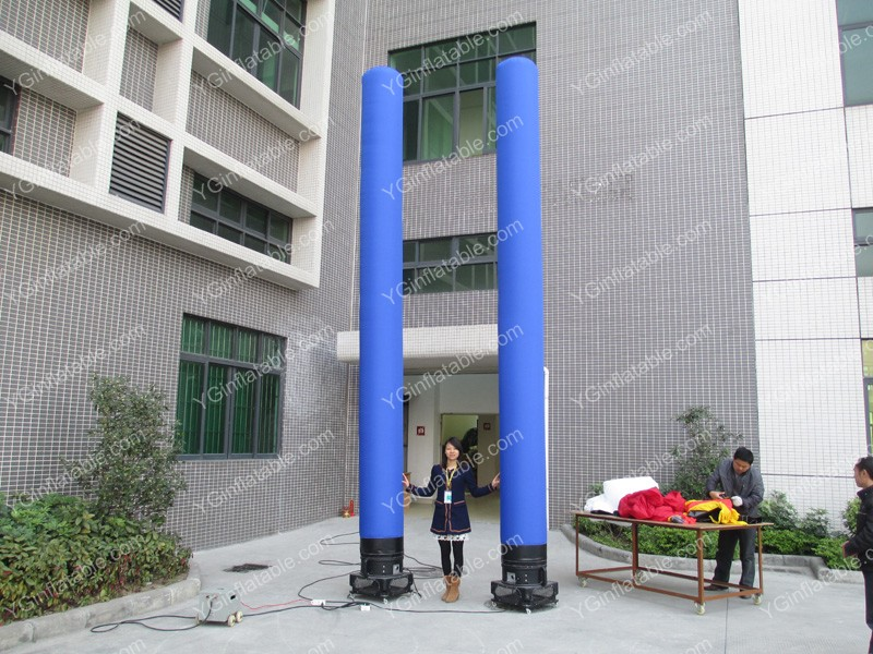 Blue Inflatable Air CylinderGD142c