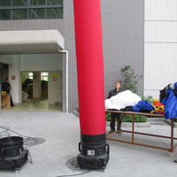 Red Inflatable Air CylinderGD142b
