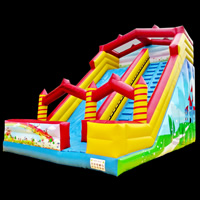Colorful Inflatable SlideGI167