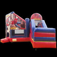 Spider-Man bouncer slide