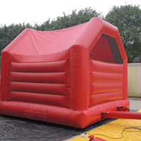 Red inflatable bouncerGB554