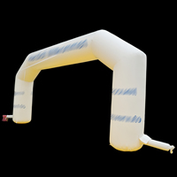 Inflatable White arches for saleGA167