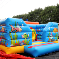 Inflatable fish bouncerGB310b