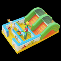 Angry bird obstacles bouncerGE145