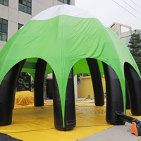 Light green inflatable tentGN058b