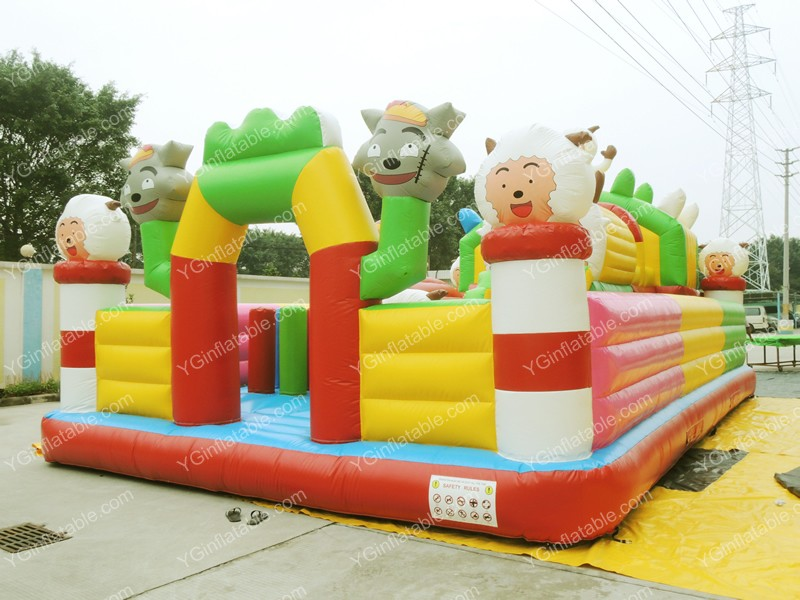 Hee sheep sheep inflatable funlandGF104