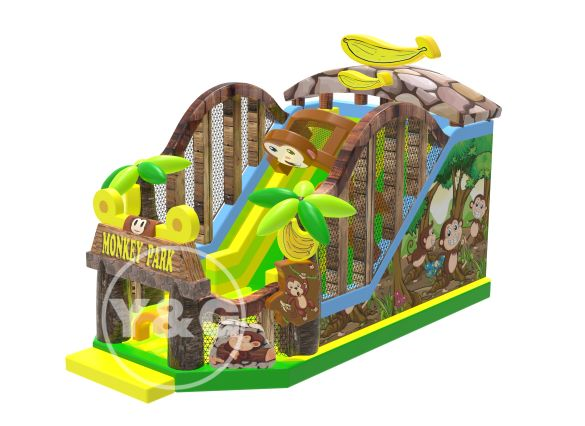 Monkey House Inflatable SlidesNEW-1