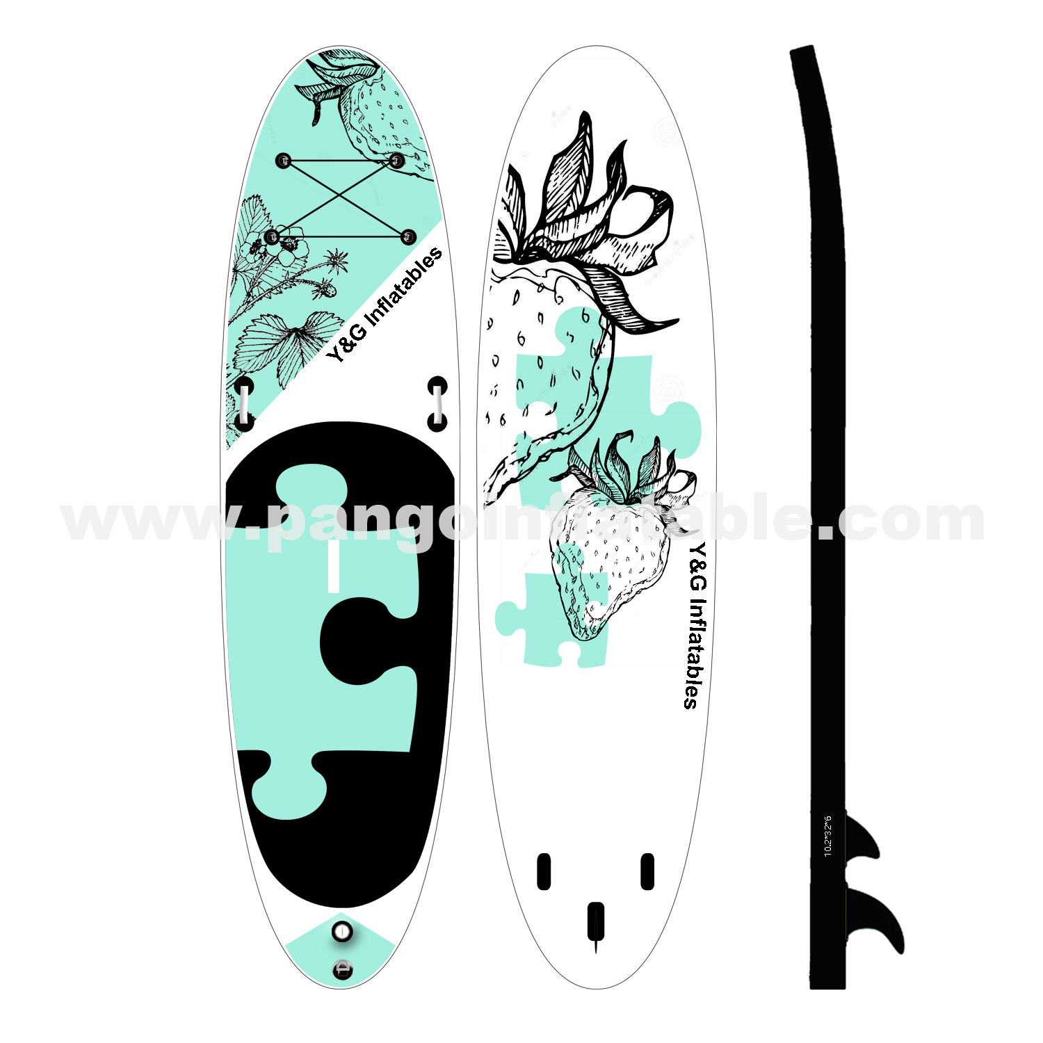 The Puzzle Inflatable Paddle BoardYPD-37