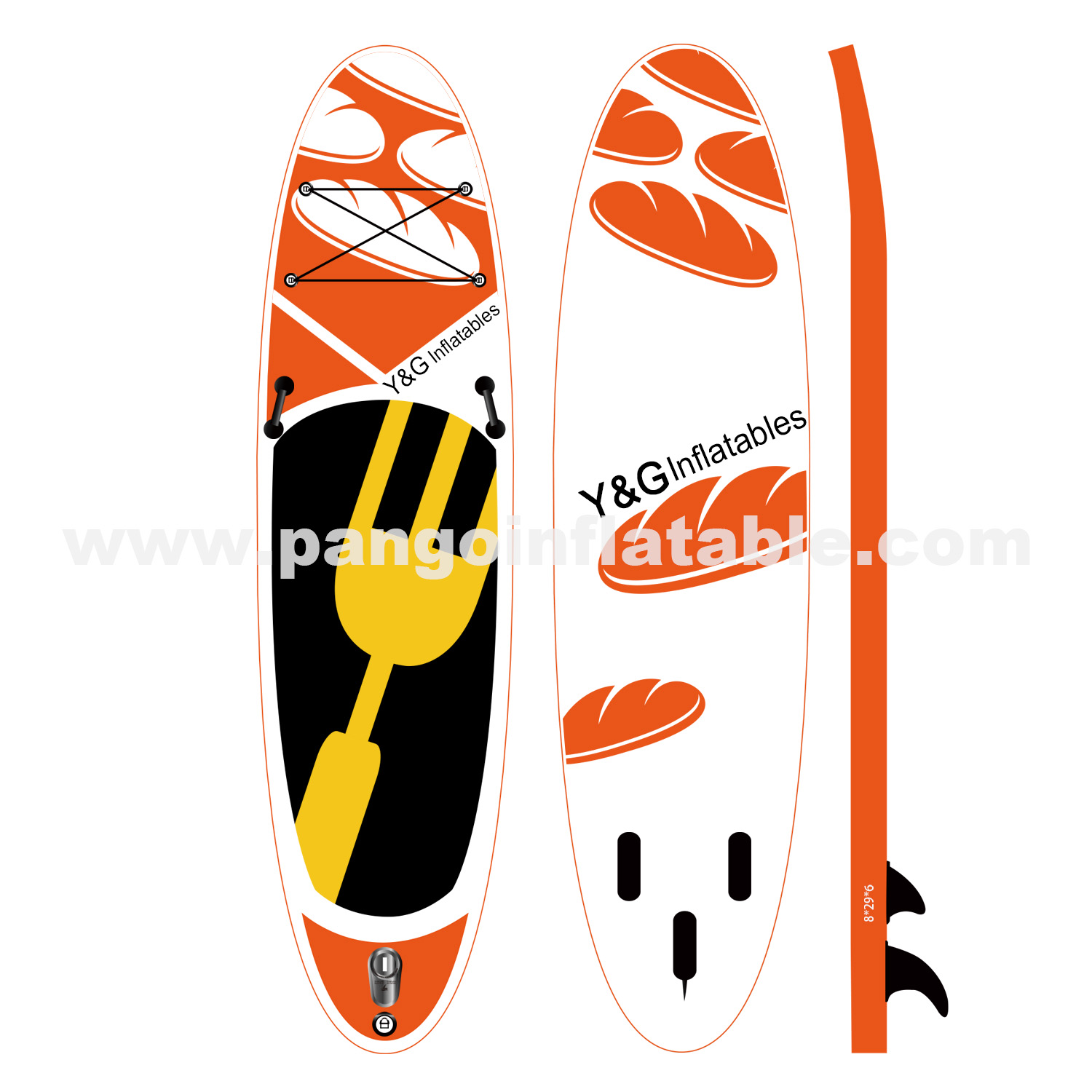 Food series Inflatable sup