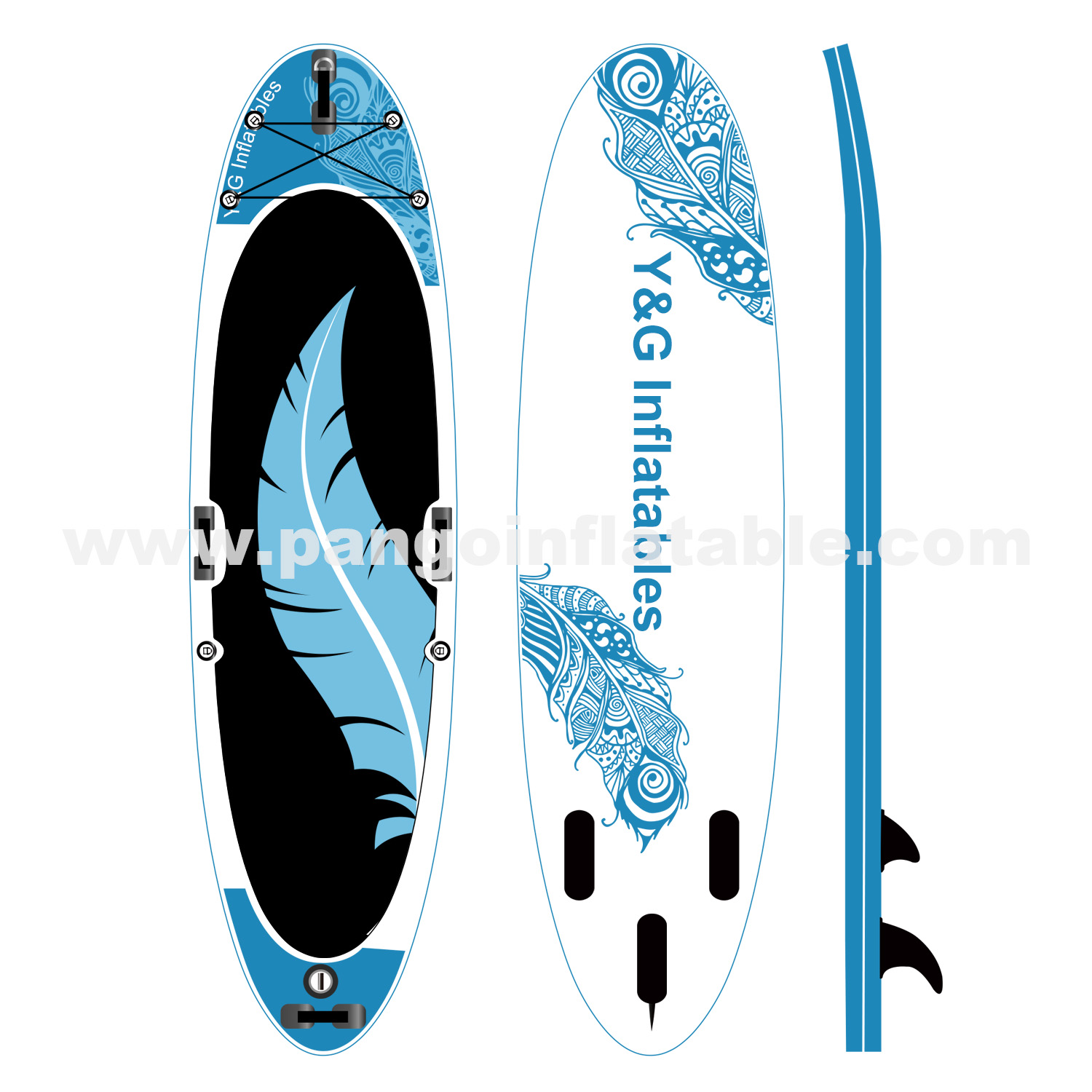Flight Feathers Inflatable Paddle BoardYPD-42