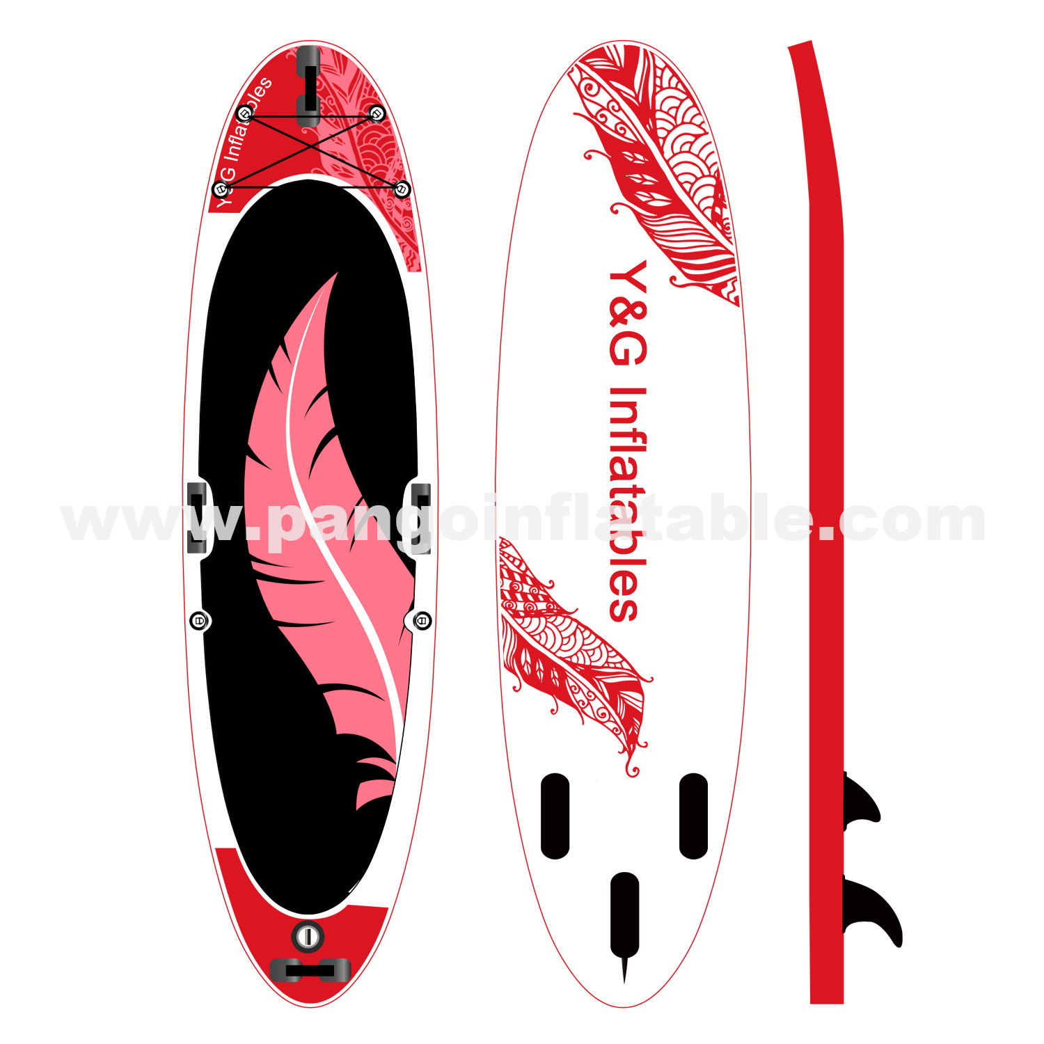 Flight Feathers Inflatable Paddle Board
