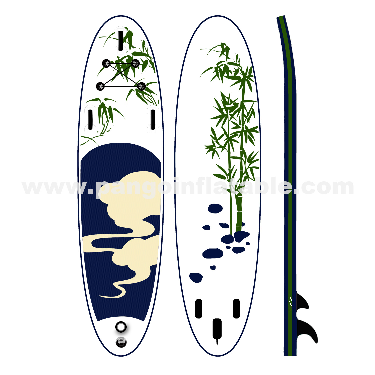 Chinoiserie Inflatable Paddle BoardYPD-46