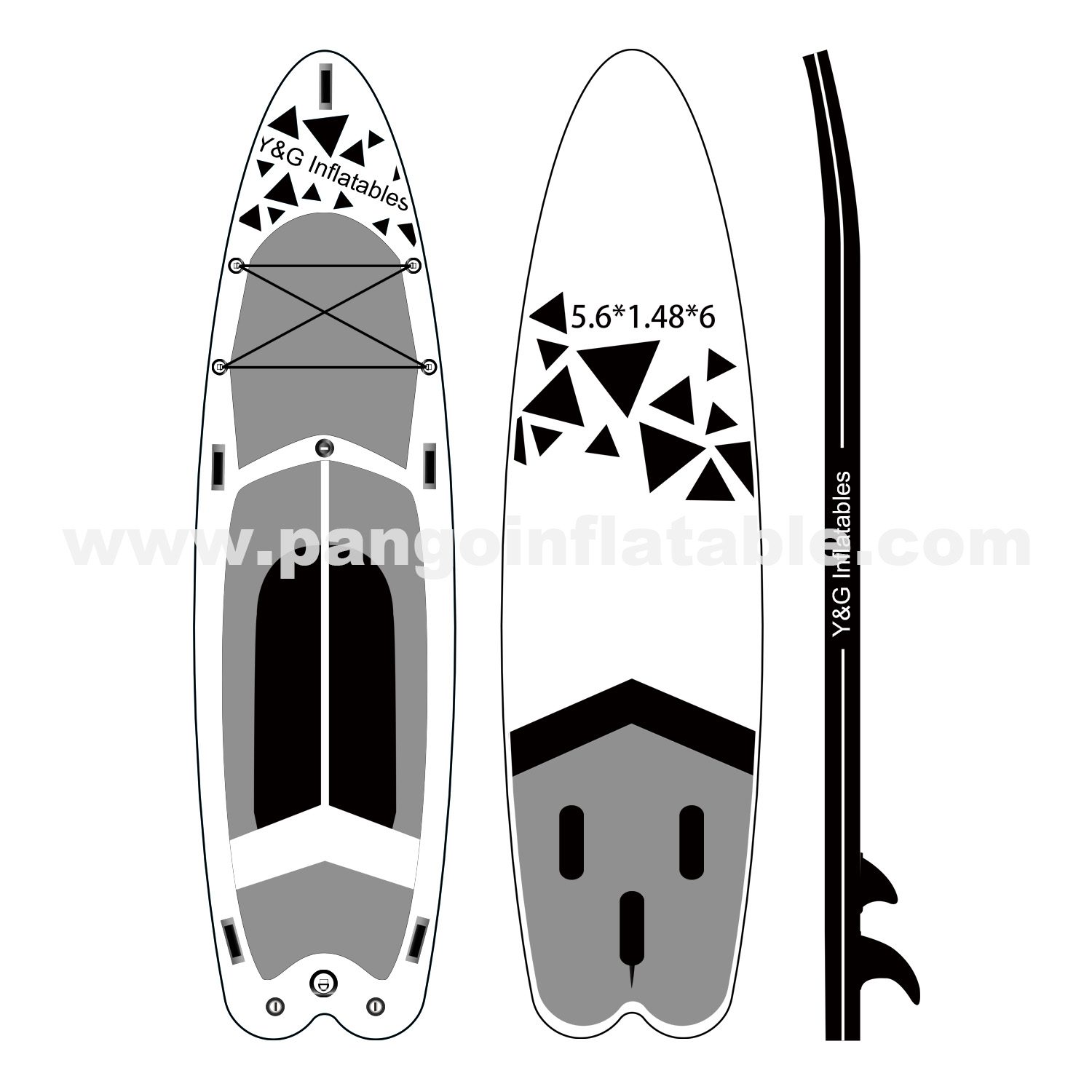 Graphics Inflatable Paddle Board