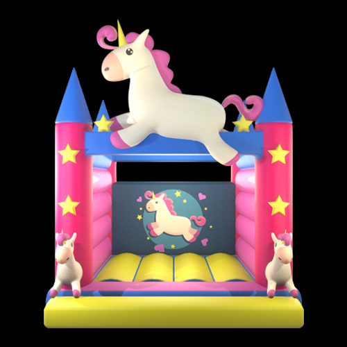 Pink Unicorn Bounce House
