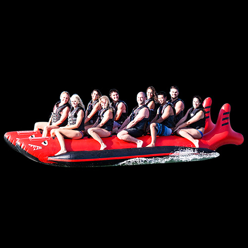 Double Tube Inflatable Banana Boat