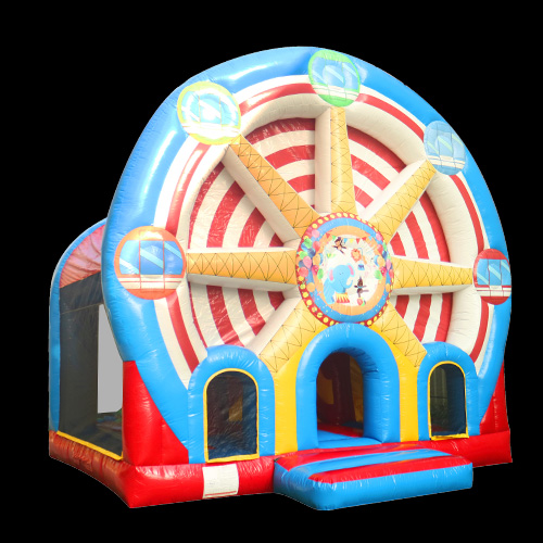 Wheel Park Giant Inflatable Bounce