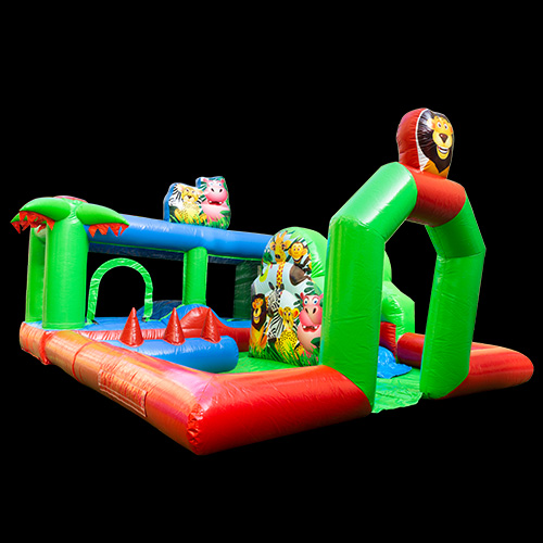 Zoo Inflatable Bouncer Ce Zoo Bounce
