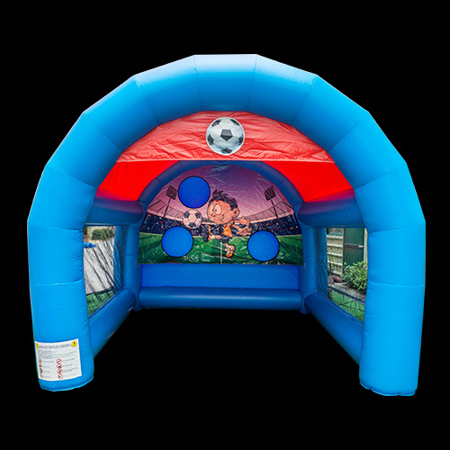 Field Outside inflatable football goal