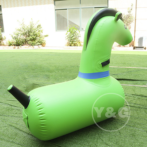 Inflatable Horse Riding GameAKD115-Green