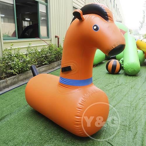 Price Inflatable Horse Derby HorseAKD115-Orange
